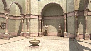 arabic palace 3D
