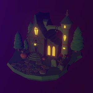 dark house 3D