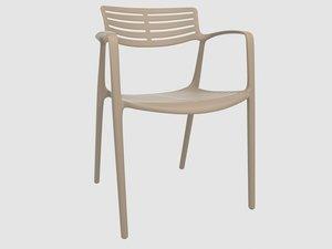 toledo aire chair resol 3D model