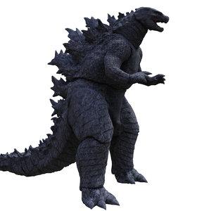 monster creature character 3D model