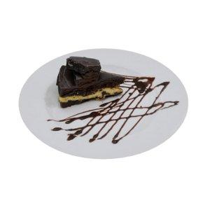 3D model chocolate fudge cheese cake