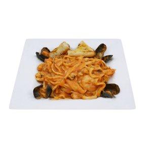 3D seafood pasta