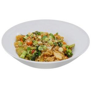 3D teriyaki chicken rice bowl