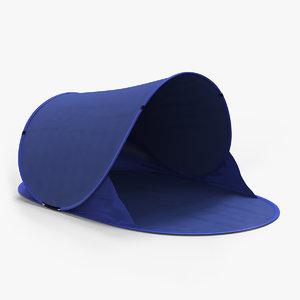 beach tent 3D model
