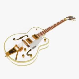 gretsch electromatic guitar 3D model