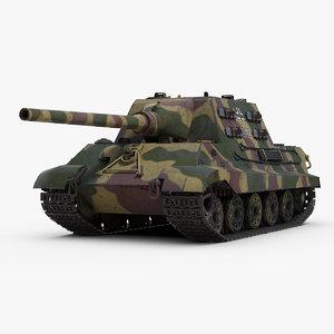 ww2 sdkfz 186 jagdtiger 3D model