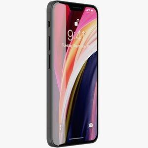 3D realistic iphone 12 concept model