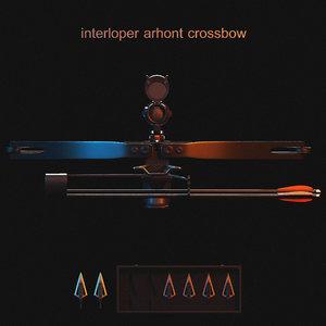 3D crossbow weapon model