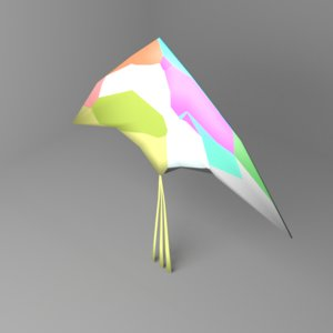 arrow kite 3D