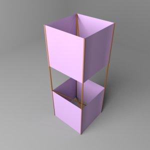 box kite 3D model