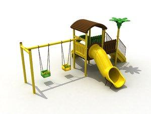3D metal playground
