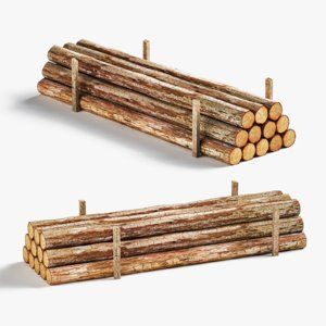 timber vol 2 3d obj