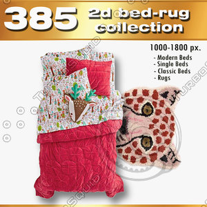 2d beds and rugs collection