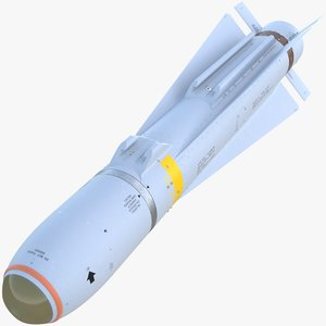 agm-65 maverick missile 3D model