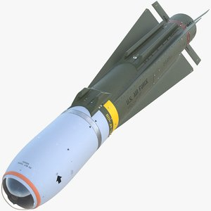 agm-65 maverick missile 3D model