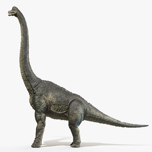 3D brachiosaurus