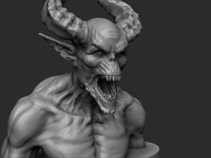 - demon print ready 3D