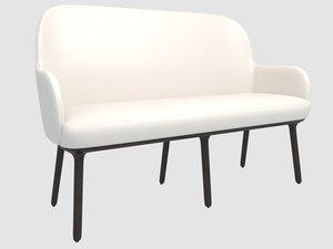 beetley bench se 3D model