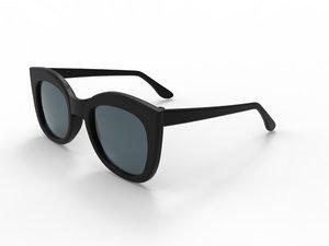 lentes sol - sun glasses 3D model