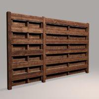 Wood Fence 06