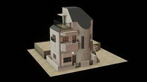 3D building streets