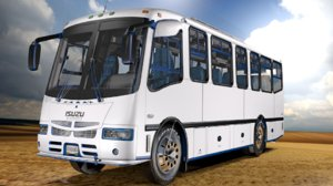 encava bus e-nt610ar isuzu 3D