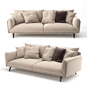 sofa faubourg 3D model