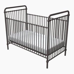 3D abigail crib