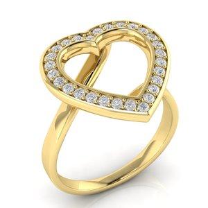 heart cluster halo ring model