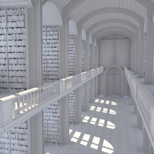 3D interior library