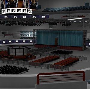 stadium ufc 3D