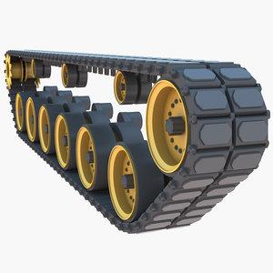 3D tank track
