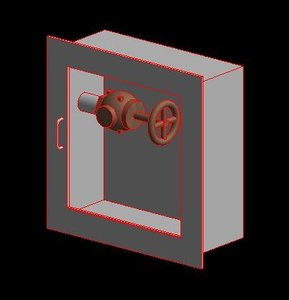 3D cabinet firefighting