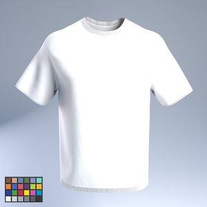 t-shirt low-poly 3D model