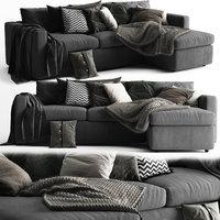 Vimle Sofa 3 Seats Chaise Longue