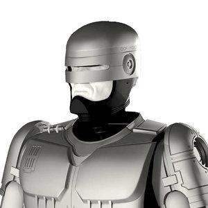 robocop suit 3D model