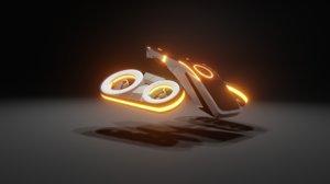 3D drone blender