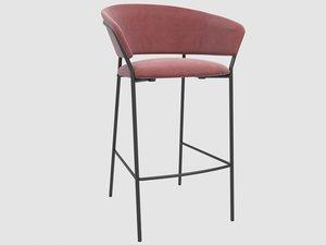 jazz stool 3D