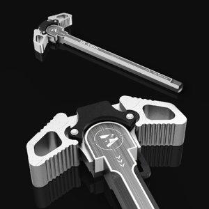 ambidextrous charging handle ar15 3D