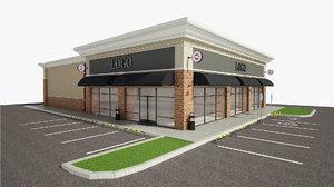 3D model building retail