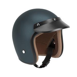3D helmet retro helm