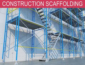 3D scaffold construction model