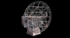 3D radar wwii model