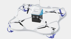 3D amazon prime air delivery