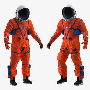 3D nasa ocss astronaut spacesuit model