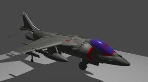 av-8b harrier 3D model