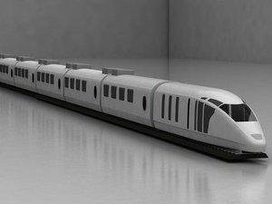 ice train 3D model