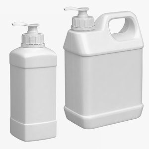 3D spray container set