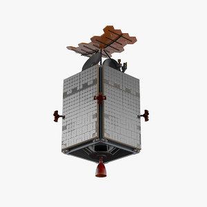 generic satellite solar model