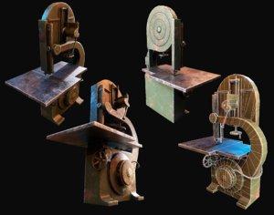 saw metalworking 3D model